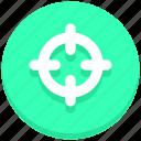 bulls eye, focus, goal, target icon