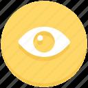 eye, lens, view, visible, vision