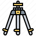 camera, dslr, photographer, photography, tripod icon
