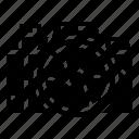 camera, dslr, focus, shutter, speed icon