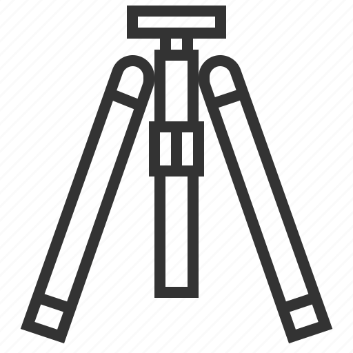 camera, image, photo, photography, picture, tripod icon