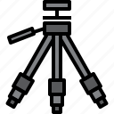 camera, photo, photography, tripod icon