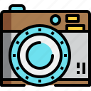 camera, photo, photography, picture, retro icon
