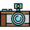 camera, flash, photo, photography icon