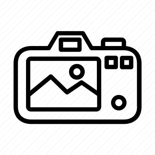 camera, photography, viewfinder icon