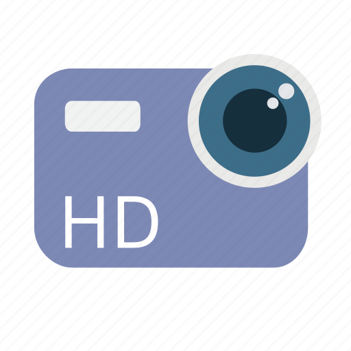 camera, cinema, high definition, lens, recorder, tv, video icon