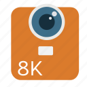 8k, camera, cinema, digital, high resolution, lens, red weapon icon