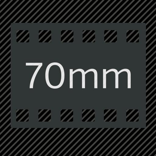 70mm, camera, cinema, film, imax, massive, video icon