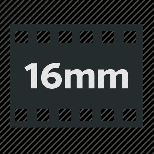16mm, camera, cinema, filled, film, negative, old school icon