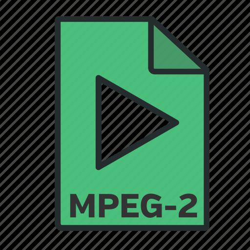 broadcast, camera, codec, format, mpeg, video icon