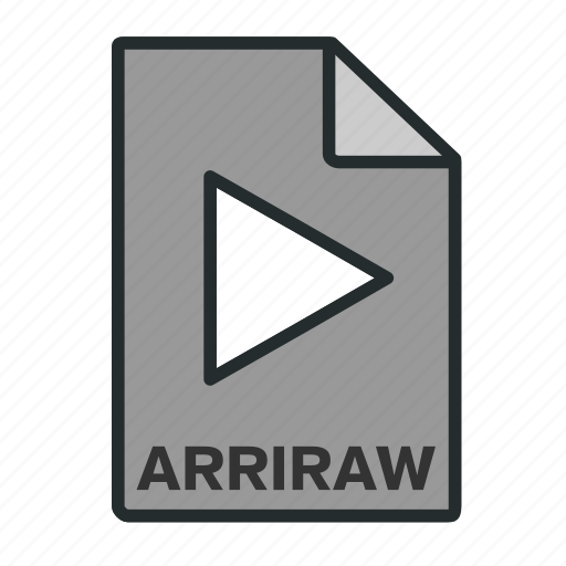 arri, camera, codec, editing, file, filled, format icon