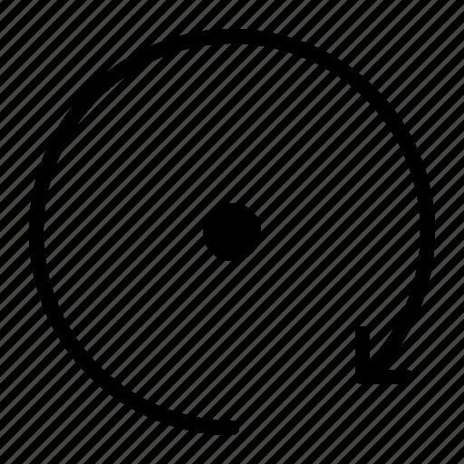 camera, clockwise, photo, rotate icon