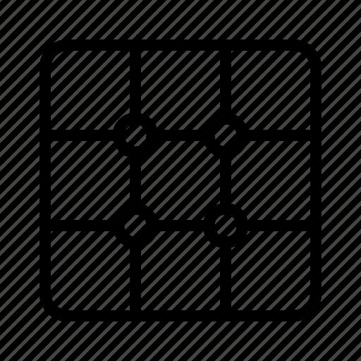camera, grid, layout, photo icon
