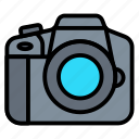 camera, digital, dslr, photography, video icon