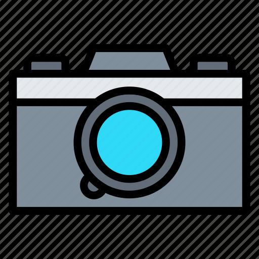 camera, digital, mirrorless, photography, video icon