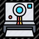 camera, photo, photography, picture, polaroid icon