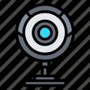 camera, cctv, live, video, webcam icon