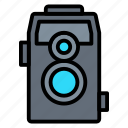 camera, old, photography, picture, vintage icon