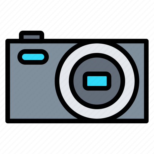 camera, digital, photography, picture, pocket icon