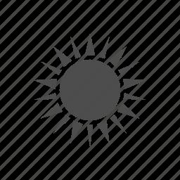 bright, brightness, light, sun, sunny icon