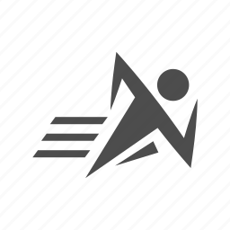 fastclick, runner, sports, sportsmode, swimming icon