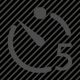 clicker, fivesecondtimer, timer, timer5sec icon