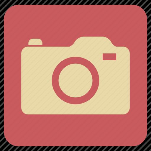 camera, click, still, vintage icon