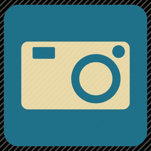 camera, digicam, vintage icon