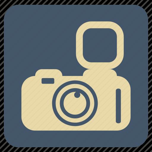 camera, flash, vintage icon