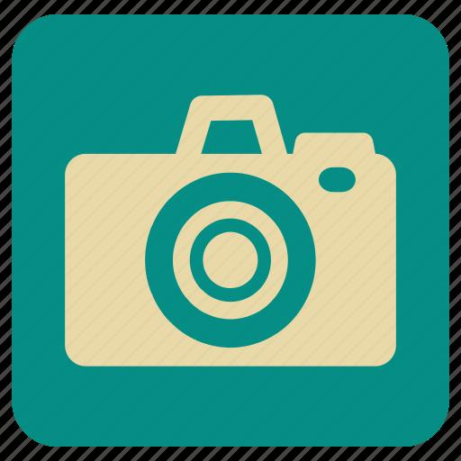 camera, flash, focus, vintage, zoom icon