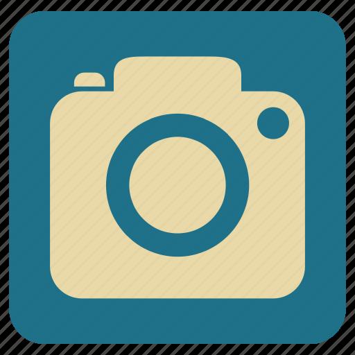 camera, digital, photo, vintage icon