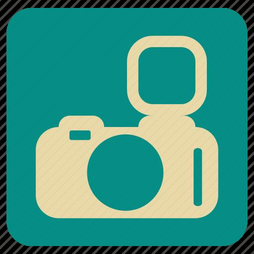 camera, event, flash, photo, vintage icon