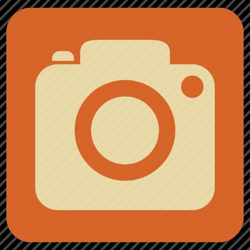 camera, photo, still, vintage icon