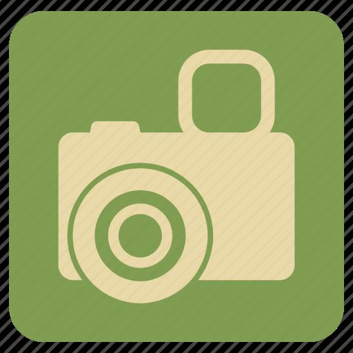 camera, vintage, zoom icon