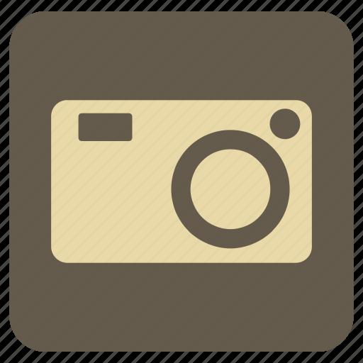 camera, lense, vintage icon