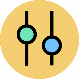 adjustment, camera, lens icon