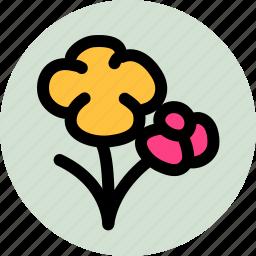 camera, flower, scenery shooting, shooting icon