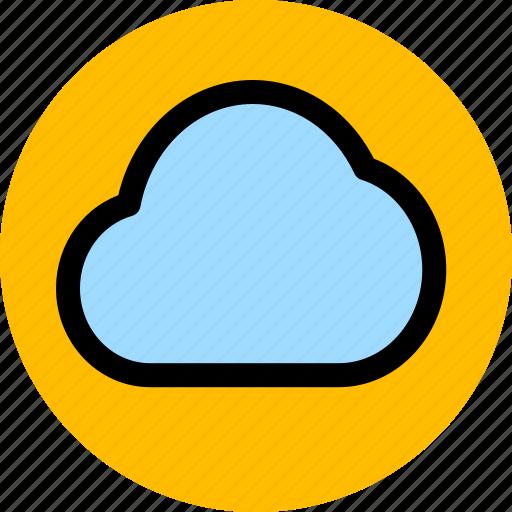 cam, camera, cloudy shooting icon