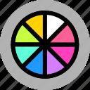 camera, exposure, shooting icon