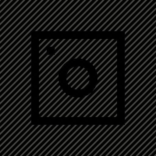 camera, device, photo, square icon