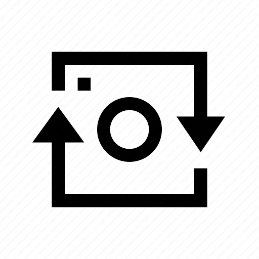 camera, device, photo, rotate, square icon
