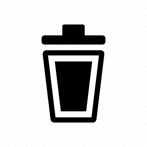 bin, delete, garbage, recycle, recycling, reuse, trash icon