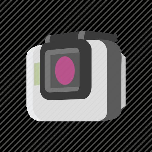 camera, digital camera, go pro, water camera icon
