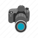 camera, dslr, lens, photo, photography icon