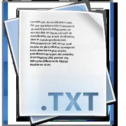 .txt File, txt icon | Icon search engine
