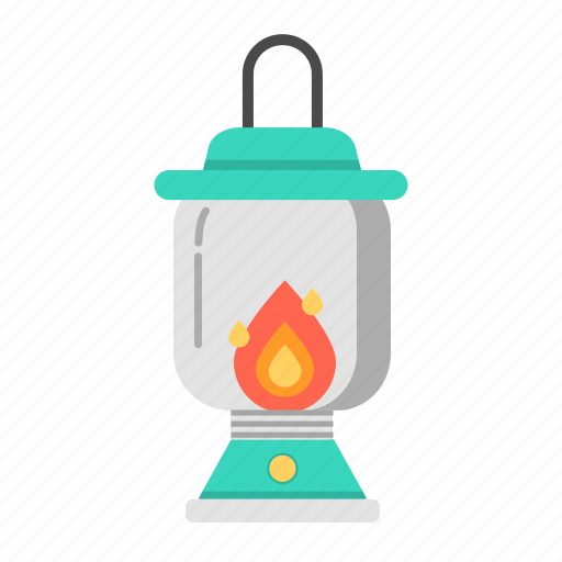 kerosene lantern, lantern, light, oil lantern, stormlantern, travel icon