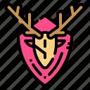 deer, horns, hunting, trophy, winner