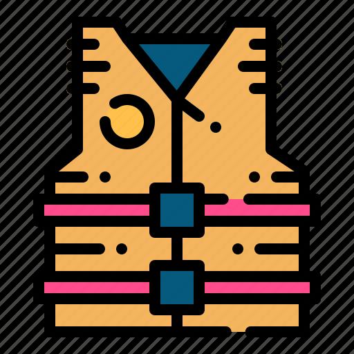 Life, lifejacket, lifesaver, preserver, vest icon - Download on Iconfinder