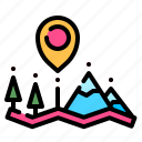 geography, location, map, placeholder, position