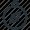 compass, arrow, direction, navigation, tool
